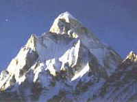 Self-Realization & Yoga Meditation: Himalayan mountain peak.